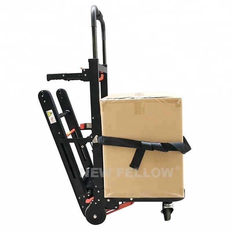 Foldable Trolley Stair Stepping Cart Vendor Weight Goods Up And Down Stairs Use